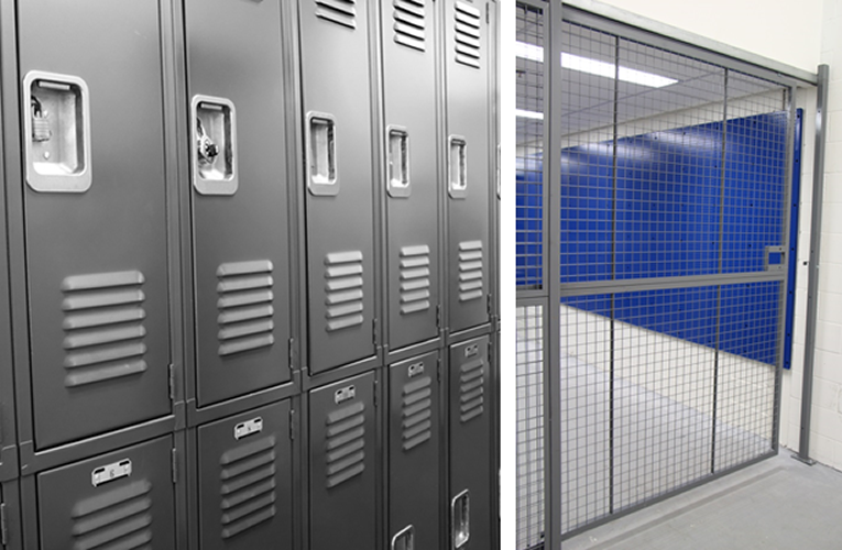 lockers-cages
